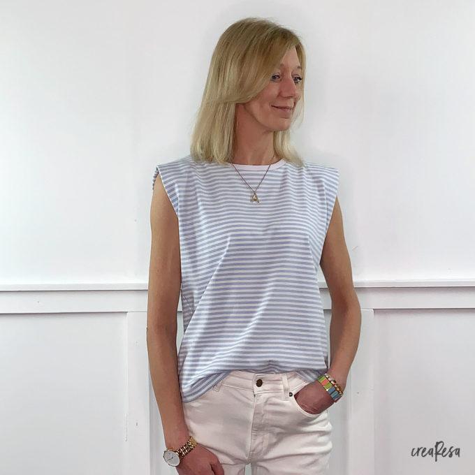 Shirt Sonnie mit Schulterpostern