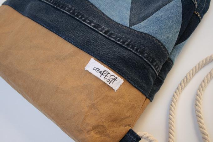 Rucksack - Boden aus Snappap