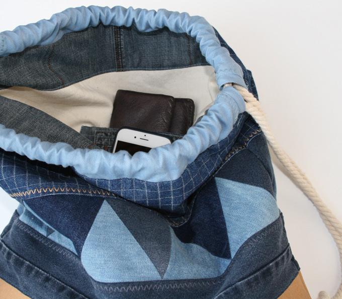 Rucksack mit doppelter Innentasche