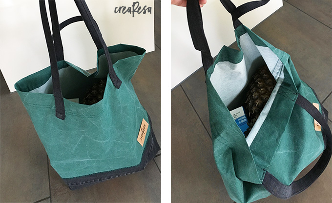 1702efe9b7c2e Stofftasche statt Plastiktüte – schnell genäht - crearesa.de