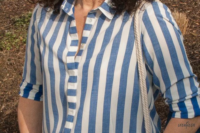 Blusen-Sew-Along – Meine Hemdbluse ist fertig!