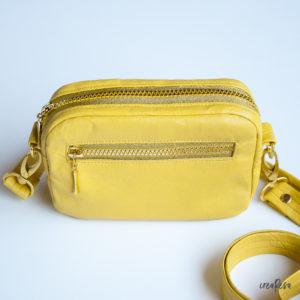 Cambag Tessa aus Leder – Reißverschlusstasche nähen ohne sichtbares Stecken