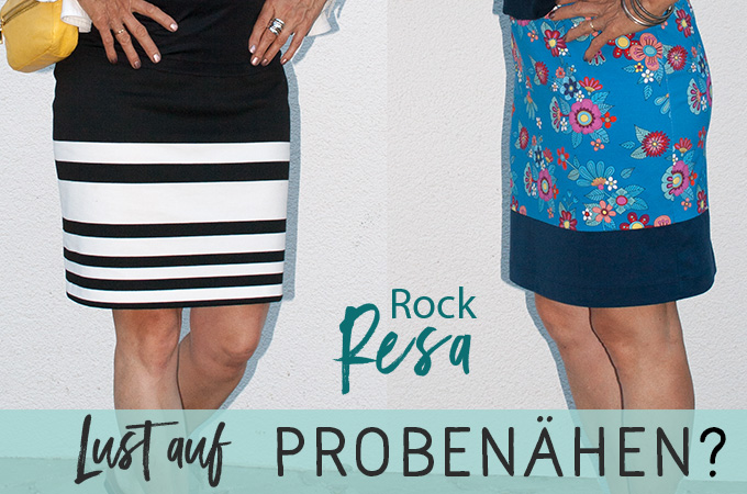 Rock Resa – Probenähen