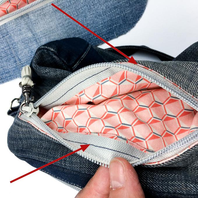 Reißverschlusstasche für Anfänger