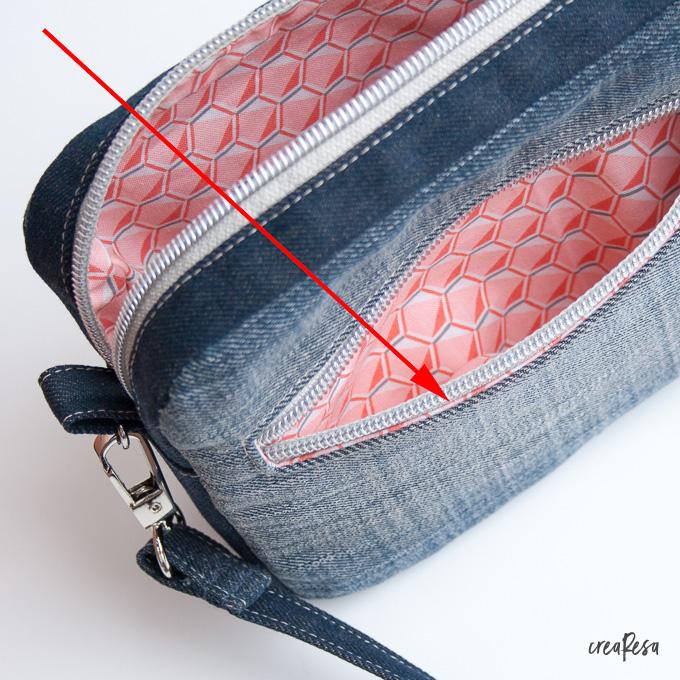Reißverschlusstasche Nähen Anleitung Crearesade