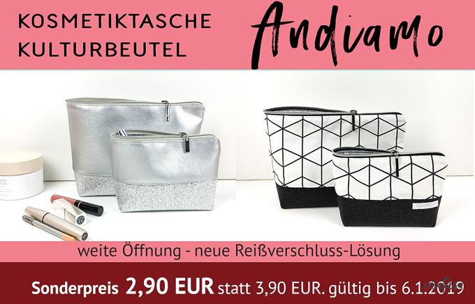 Andiamo-Bag Kosmetiktasche / Kulturbeutel