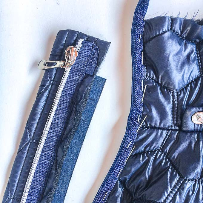 Jacke aus Steppstoff