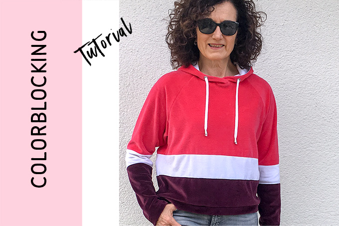 CreaRetro Hoodie – so geht Colorblocking