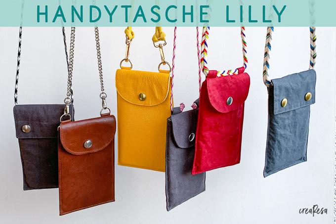 Handytasche Lilly – Schnittmuster