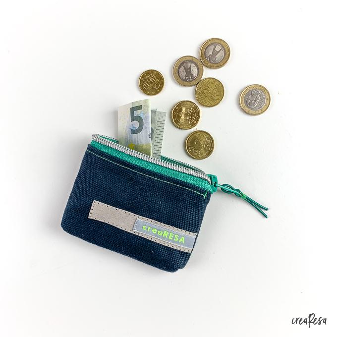 Minigeldbeutel nähen