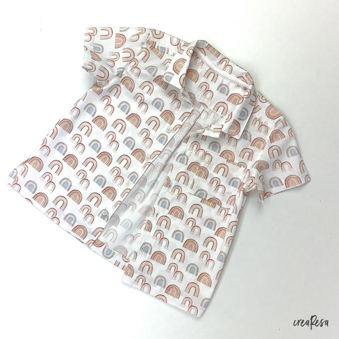 Hemd mit doppelter Passe